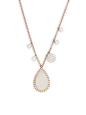 Click here for Diamond Teardrop Pendant Necklace prices