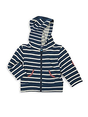 Baby's Striped Hooded Jacket