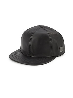 Calf Leather Cap