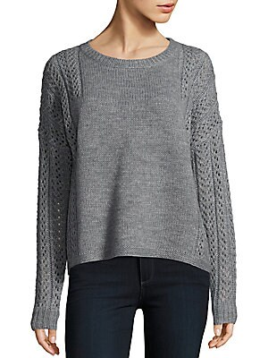 Cable Knit 360 Merino Sweater