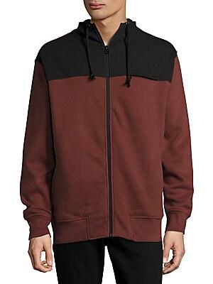 Colorblock Hoodie Jacket