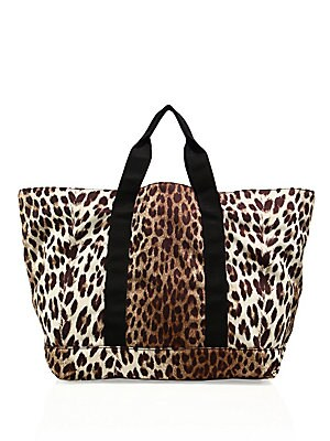 Animal Inspired Printed Tote
