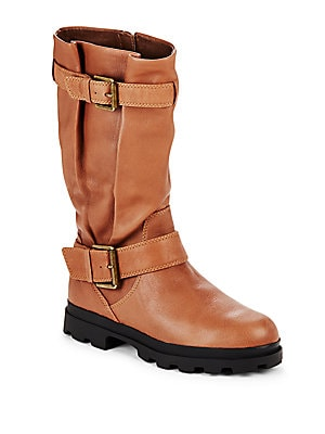 Camden Leather Mid-Calf Boots
