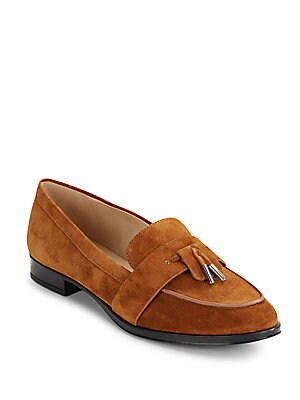 Moc Toe Leather Loafers