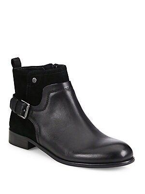 Marta Leather Ankle Boots