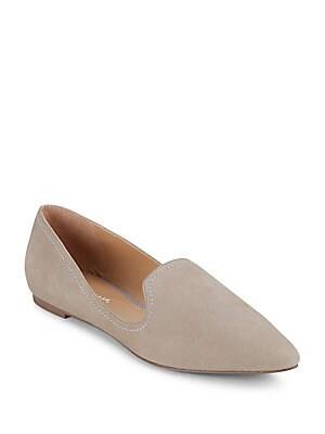 Simona Leather Low-Cut Flats