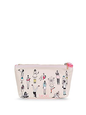 Printed Top Zip Pouch