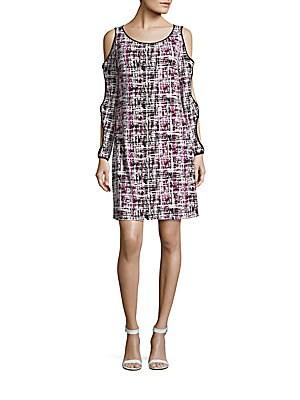 Printed Cutout Dress