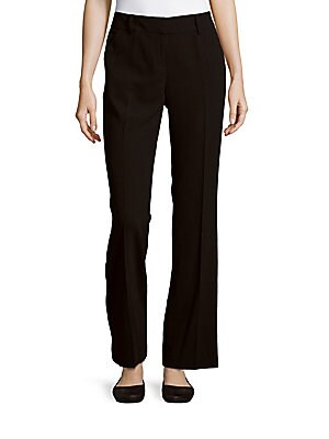 Bootcut Ankle-Length Pants