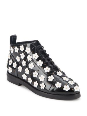 Winston Floral Ankle Boots