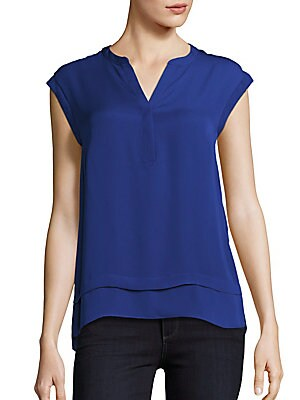 Faux Double Layer Top