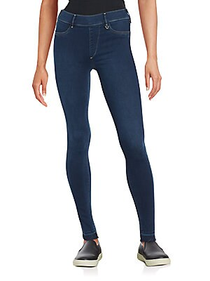 Skinny Straight-Leg Jeans