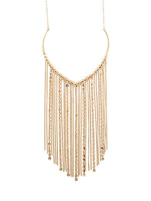 Bohemian Metals Fringed Necklace