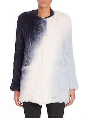 Beatrix Rabbit Fur Jacket