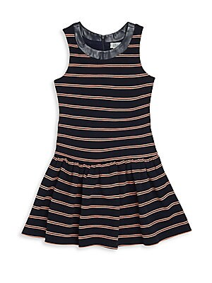Girl's Sleeveless Roundneck Dress