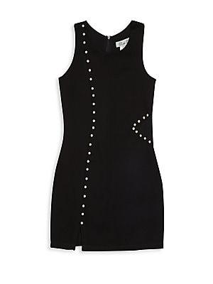 Girl's Embellished Sleeveless Dress