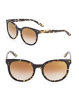 Baez Gold Rush 53MM Oval Sunglasses