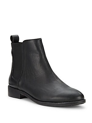 Leather Ankle-Length Boots