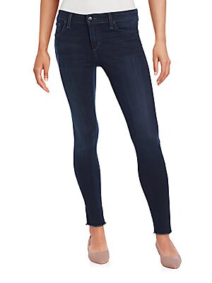 Skinny Unfinished Jeans
