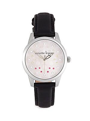 Goldtone Stainless Steel Bracelet Watch