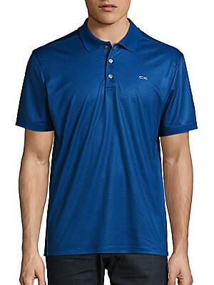 Printed Jersey Polo Shirt