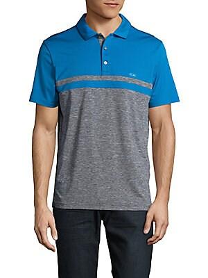 Colorblock Polo Shirt
