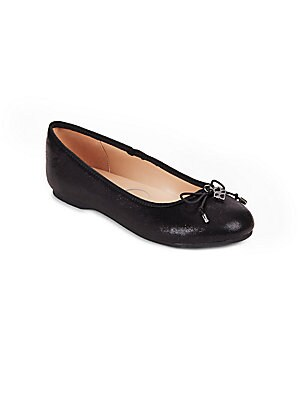 Bow Accented Ballet Flats