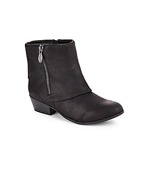 Ankle Zipper Boots