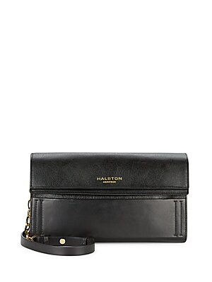 Halston Leather Handbag