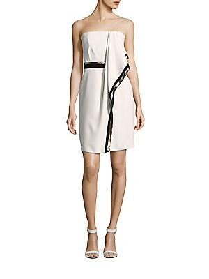 Toga-Style Wrap Dress