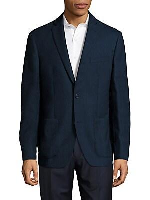 Regular-Fit Wool Blazer