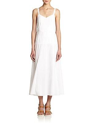 Jade Cotton Maxi Dress