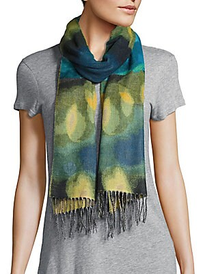 Fringed Multicolor Scarf