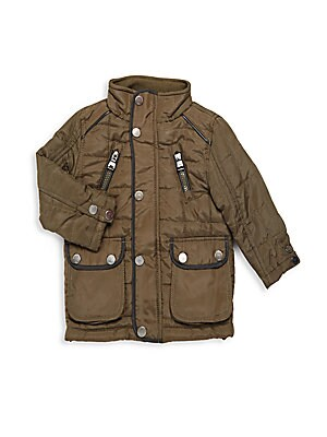 Baby Boy's Multi-Pocket Jacket
