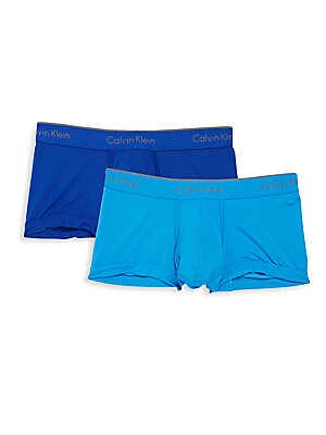 Athletic Low-Rise Trunks - 2 Pack