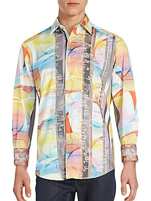 Classic Fit Sunset Style Sportshirt
