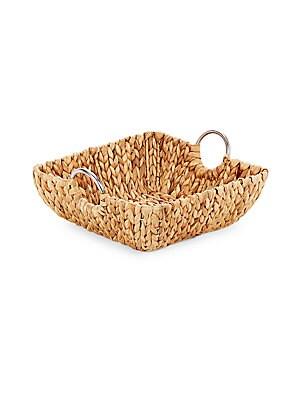 Braided Straw Tray