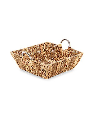 Square Straw Tray