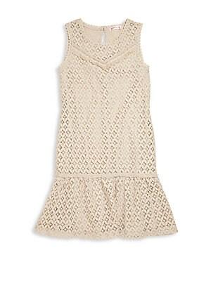 Girl's Crocheted Minidress