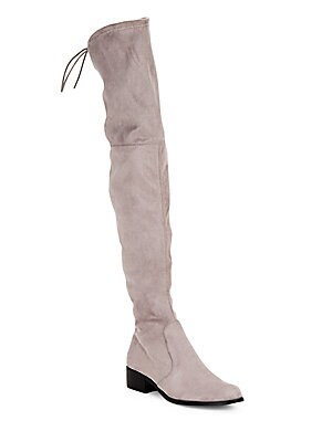 Almond Toe Over The Knee Boots