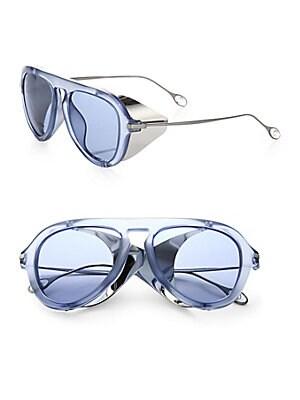 Metal Blinker 51MM Aviator Sunglasses