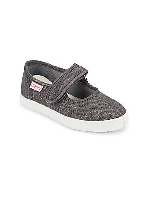 Kid's Textured Mary-Jane Shoes