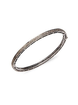 Click here for Champagne Diamond & Sterling Silver Bracelet prices