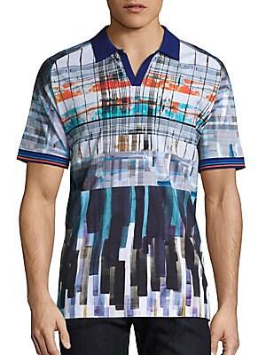Johnny Collar Cotton T-Shirt