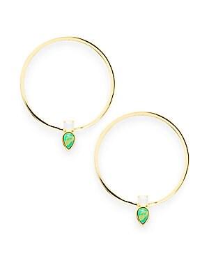 14K Gold-Plated Earrings
