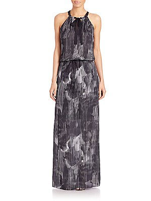 York Printed Maxi Dress