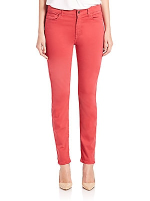 7 for all mankind female sateen skinny jeans
