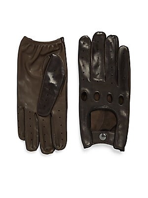 Touch Tech Leather Driver Gloves