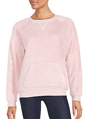 Plush Pullover Sweatshirt
