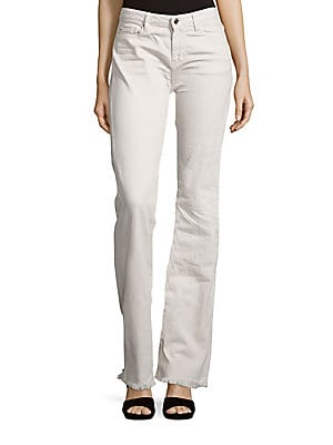 Freddy Fringed Flared Jeans